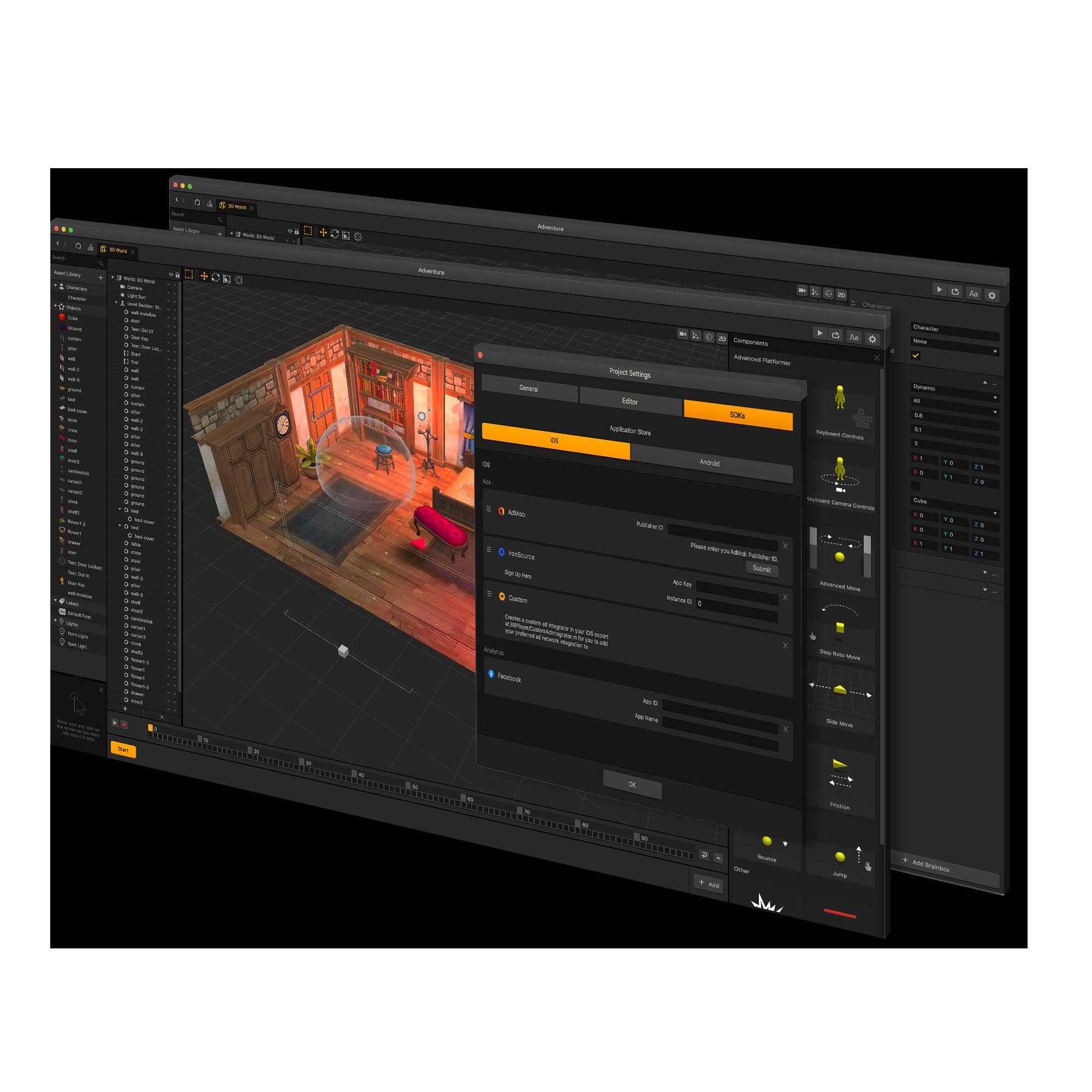 AppOnboard Buildbox mobile game development platform.