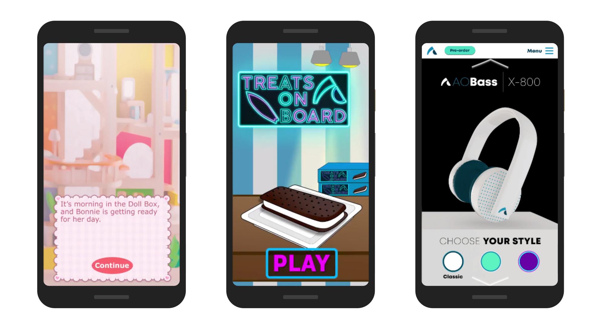 AppOnboard Studio's interactive ads