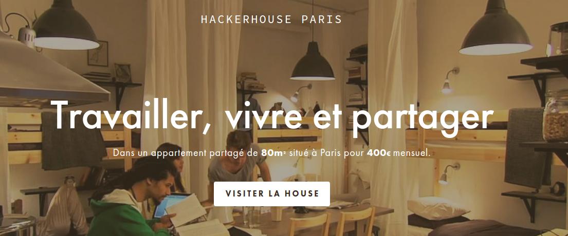 HackerHouse Paris banner