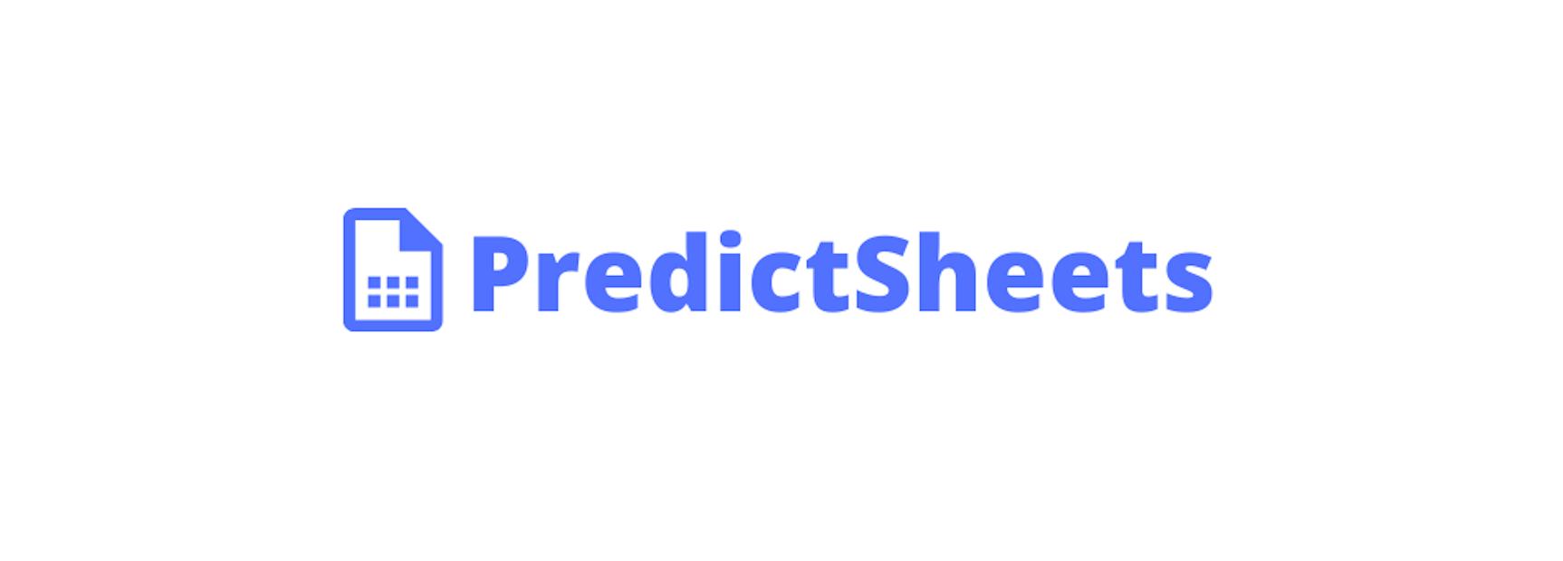 PredictSheets logo