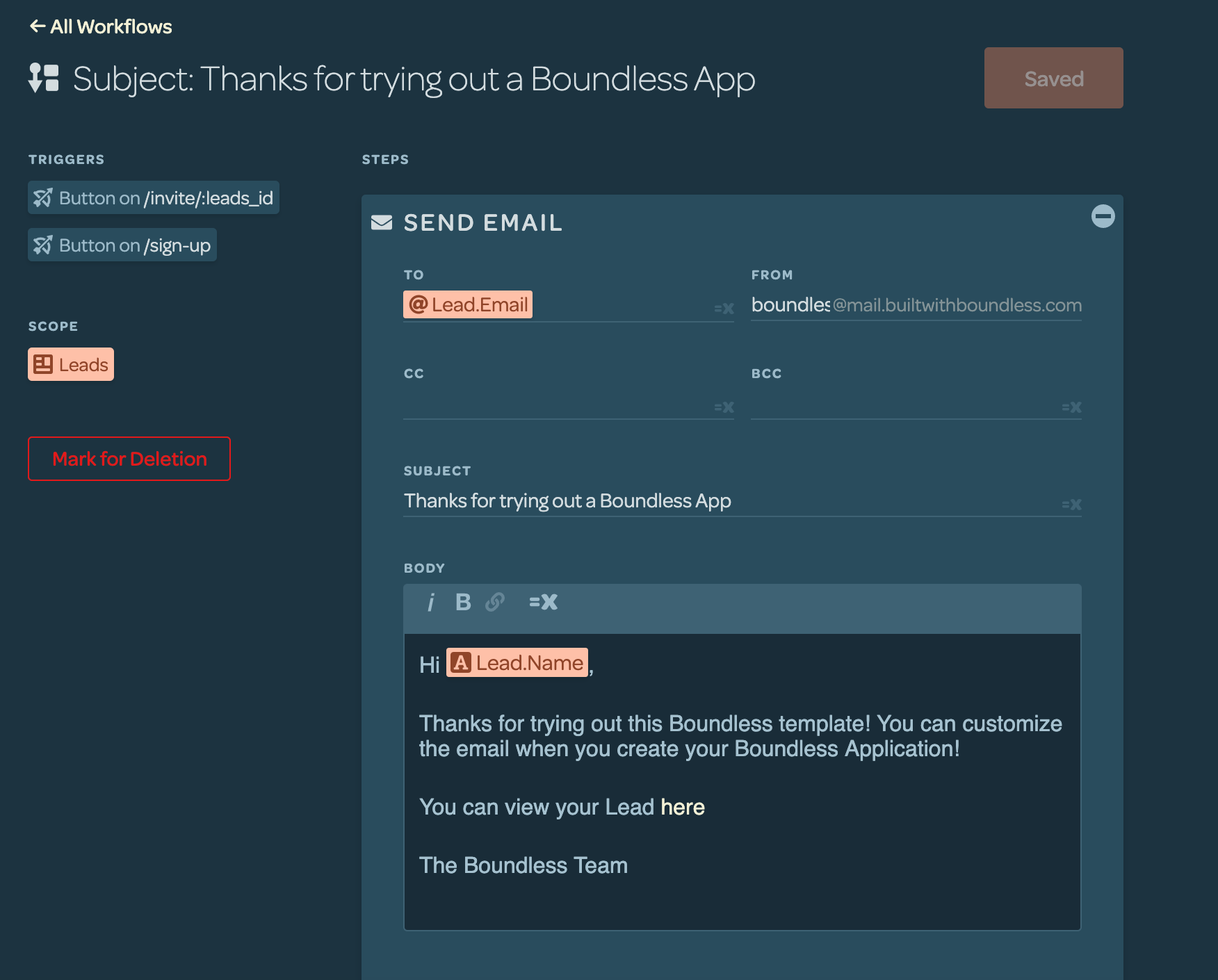 Boundless Bubble Review No-Code Workflow Builder
