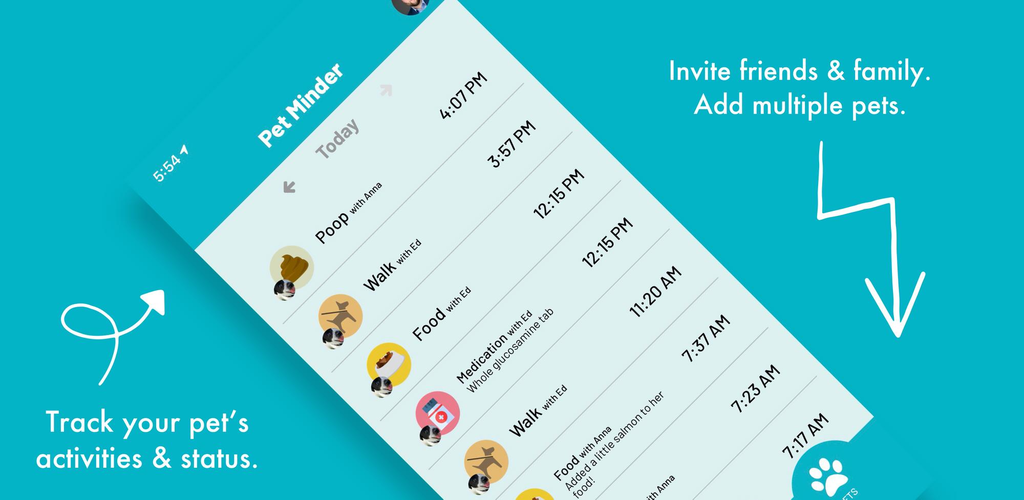 Pet Minder Google Play app