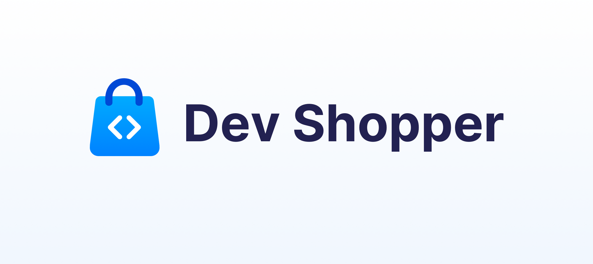 Dev Shopper built on Bubble with no code