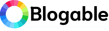 Blogable logo