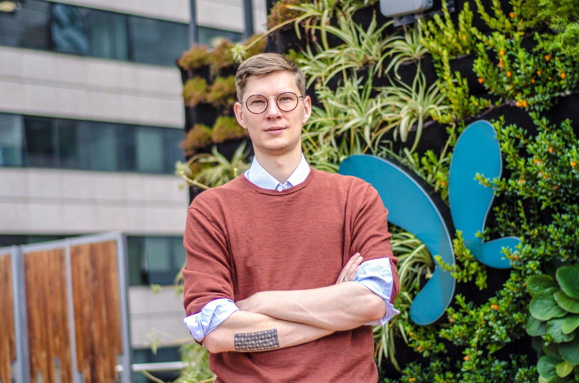 Honeyglider founder, Mads Petersen