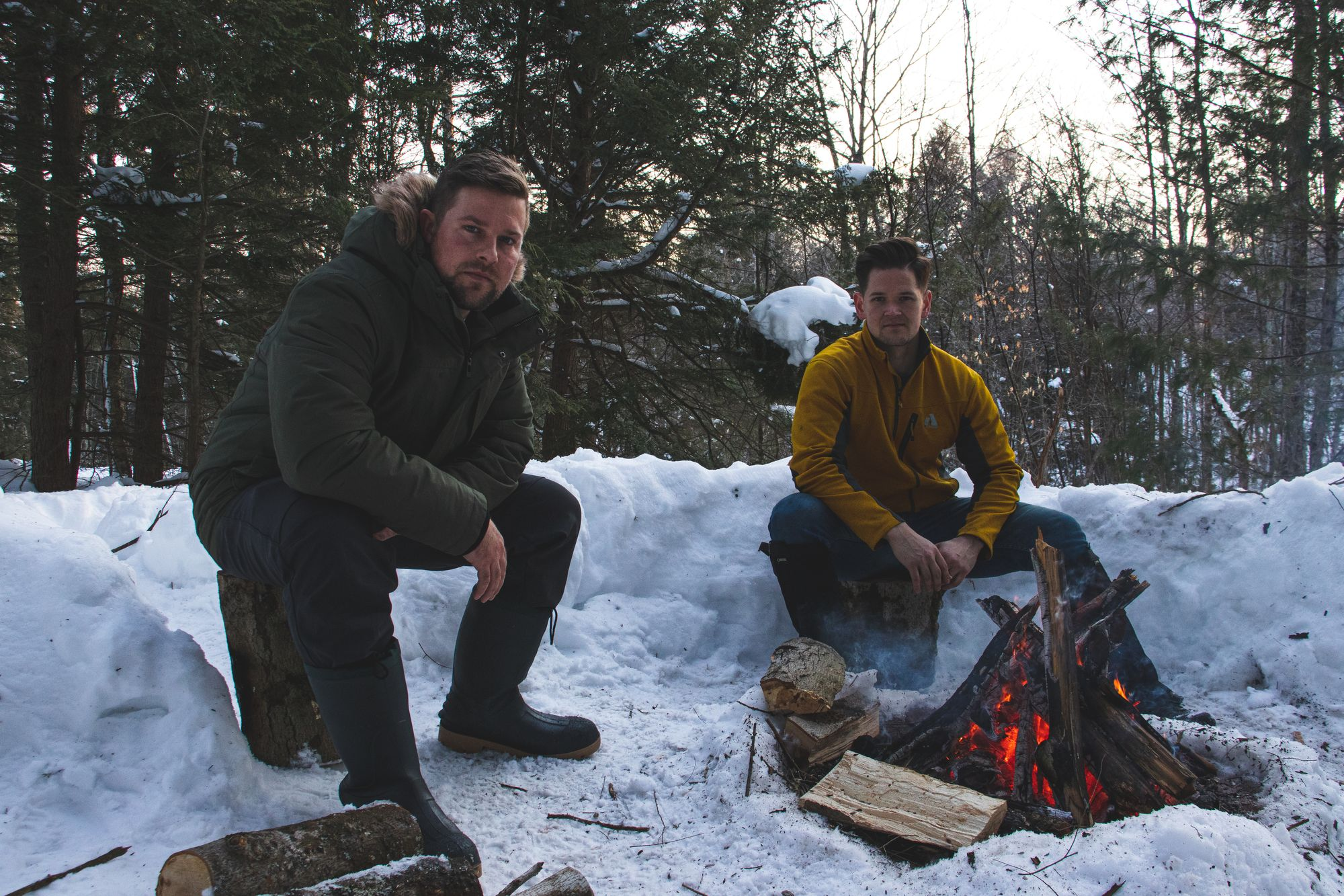 Northern Raised co-founders, Andrew Pottruff and Zack Langlois
