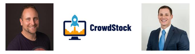 CrowdStock co-founders, John Bura and Jordan Smith