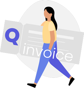Qinvoice logo.