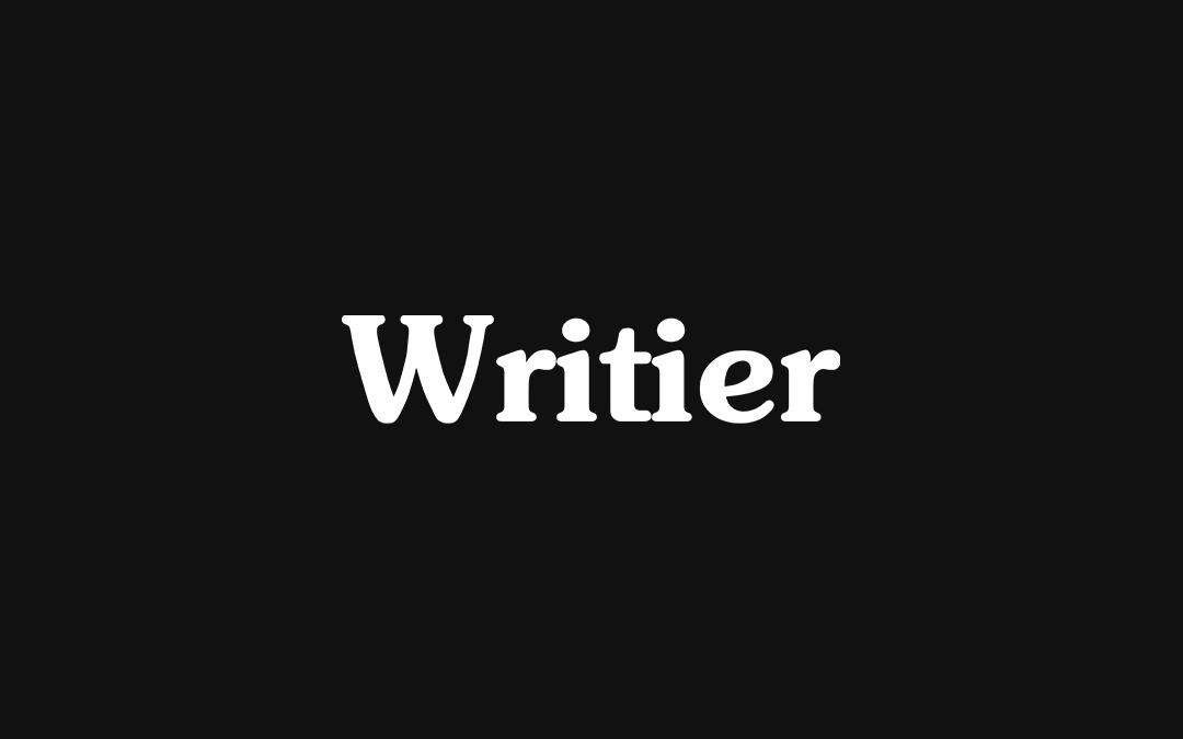 Writier logo