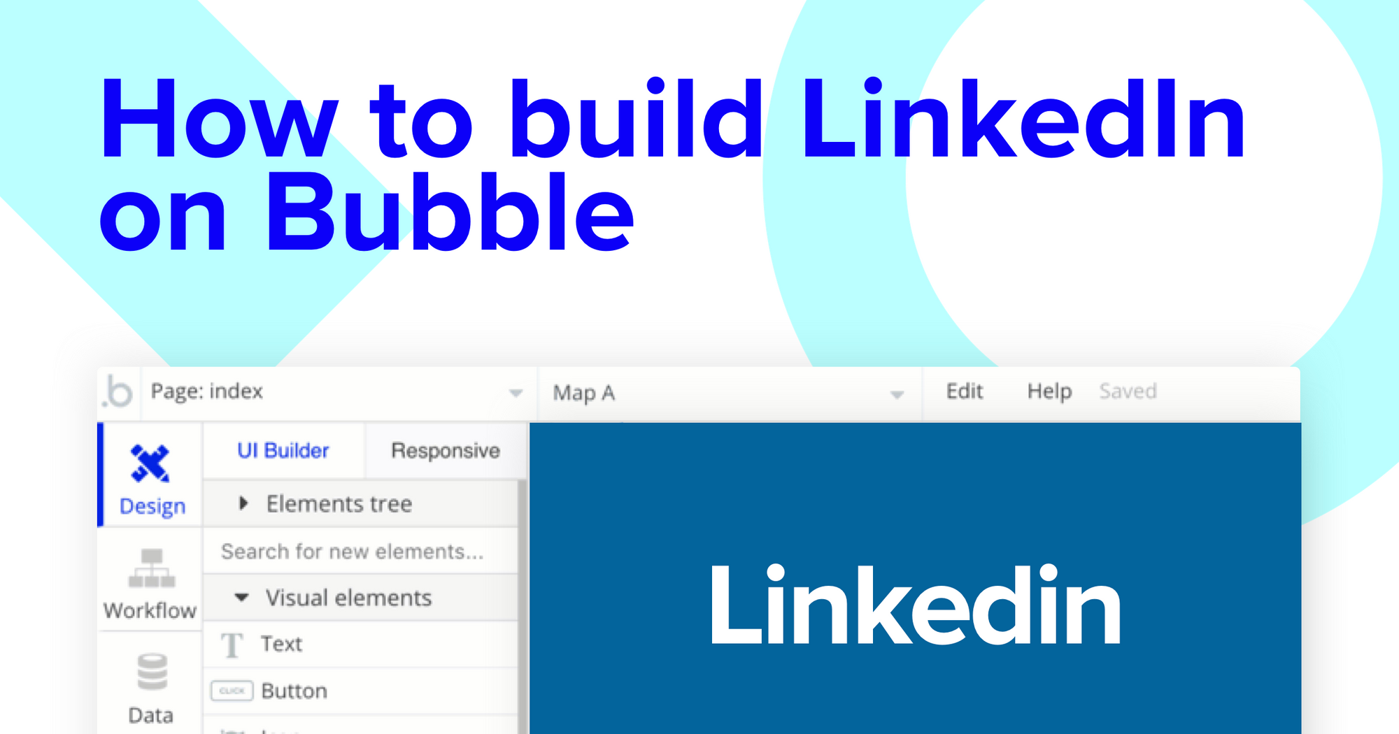 How To Build LinkedIn in Bubble with No Code Tutorial