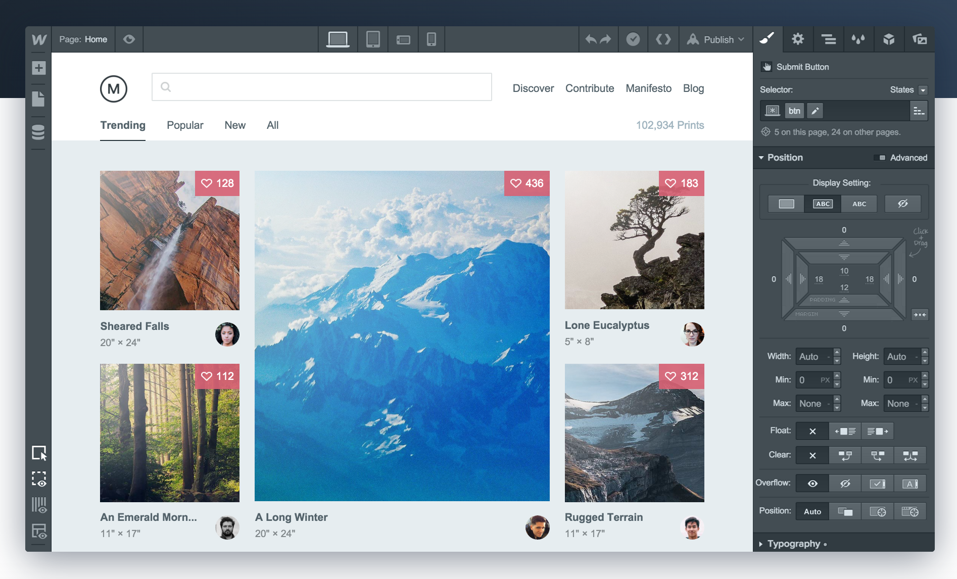 Webflow Review: No-Code Web Design Tool