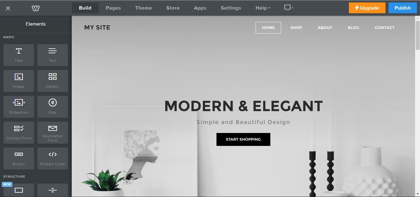 Weebly Review: E-commerce Website Builder