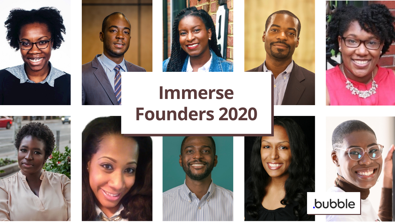 Meet the Immerse 2020 Founders