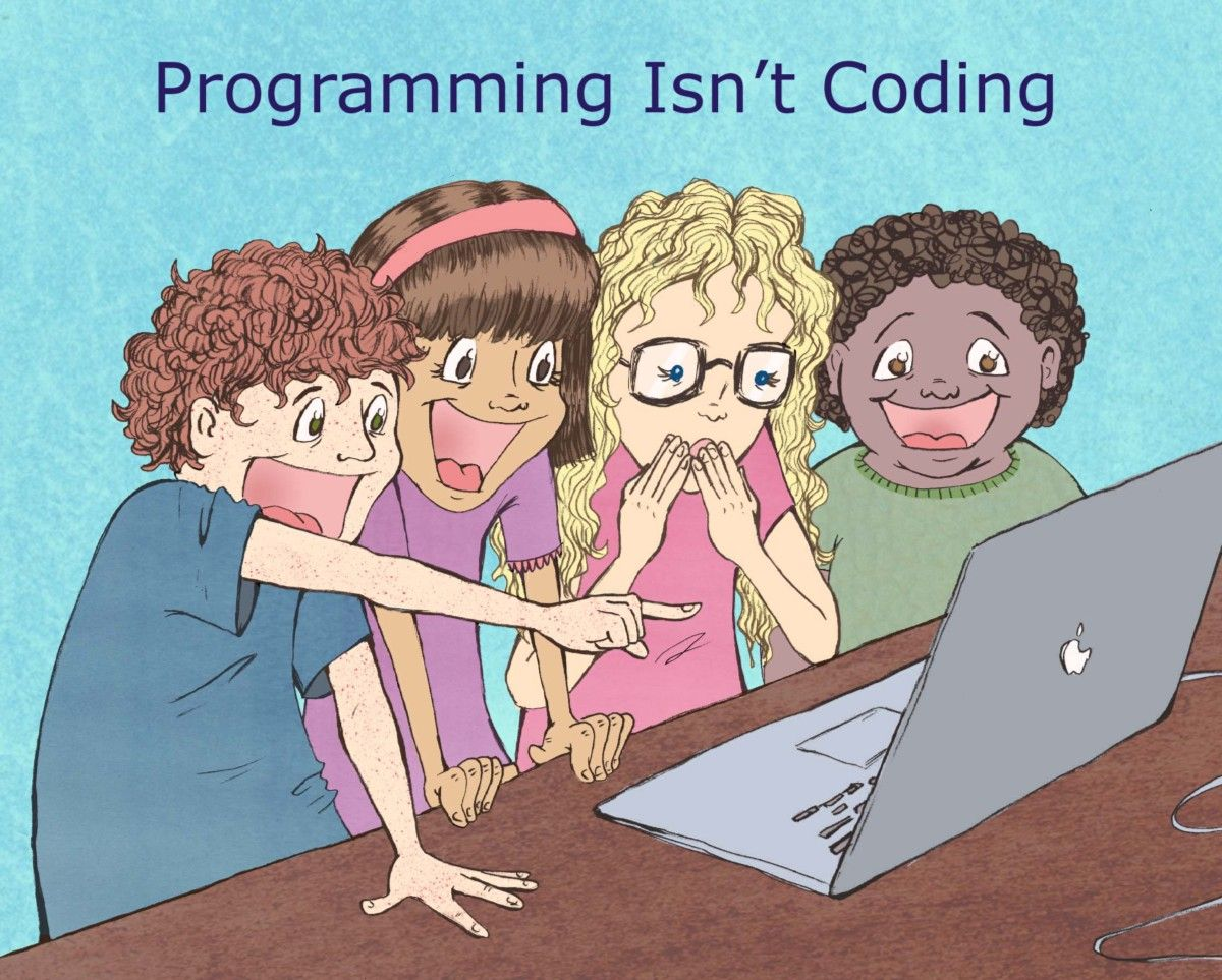 Programming is not coding