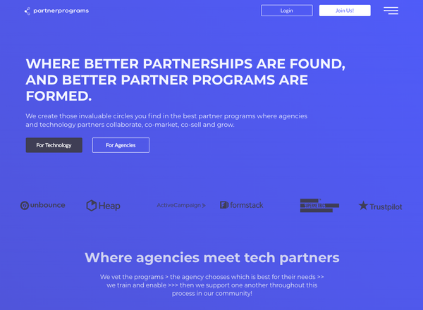 Bubble App of the Day: Partnerprograms