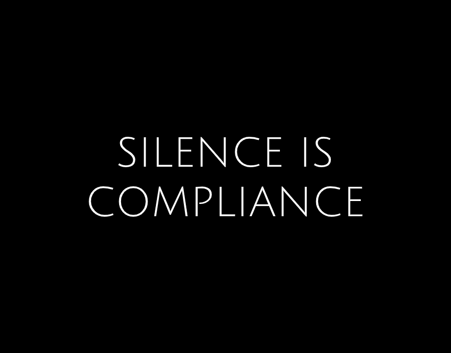 Bubble App of the Day: Silence is Compliance
