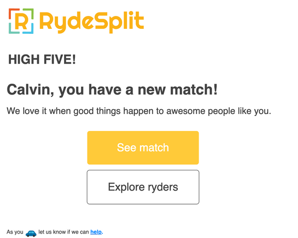 Bubble App of the Day: RydeSplit