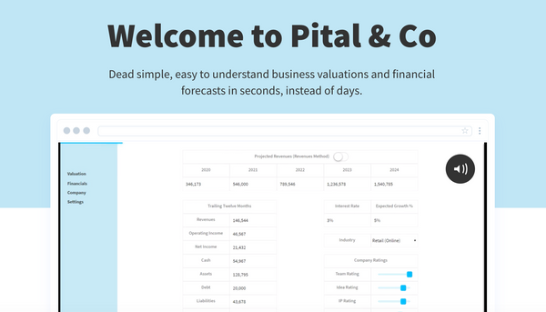 Bubble App of the Day: Pital & Co