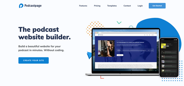 Podcastpage Review: No-Code Podcast Site Builder