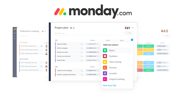 Monday.com Review: No-Code Project and Team Management Platform
