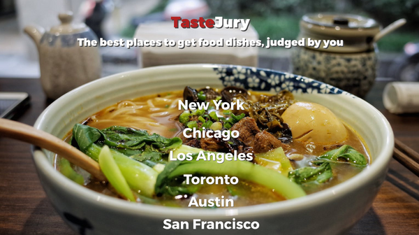 Bubble App of the Day: TasteJury