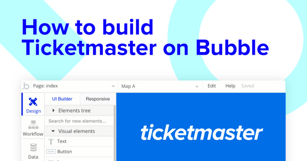 How to Build a Ticketmaster Clone With No Code