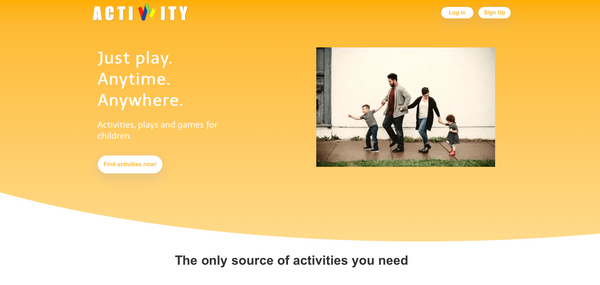 Bubble App of the Day: Actiwity